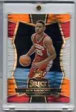 2016-17 BEN SIMMONS PANINI SELECT #141 PREMIER LEVEL TRI-COLOR PRIZM ROOKIE RC