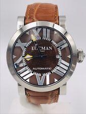 Orologio Locman Toscano 290MM/715 Acciaio/Pelle Automatico Scontatissimo Nuovo