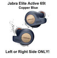 NEW Jabra Active 65t Copper Blue Wireless Replacement Earbud LEFT or RIGHT Only!