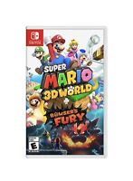 Super Mario 3D World + Bowser's Fury Nintendo Switch Fast Shipping