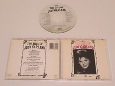 JUDY GARLAND/THE HITS OF JUDY GARLAND(CAPITOL CDP 7 46622 2) CD ALBUM