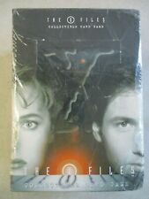 SEALED 1996 X-FILES COLLECTIBLE CARD GAME BOX of 12 TWELVE 60-CARD STARTER DECKS
