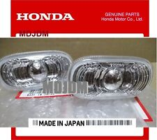 2 x Clear Oem Front Side Markers found on Jdm CIVIC FD2 TYPE-R  34301-SNW-003