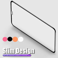 2PCS For iPhone 11 Pro Max XS XR X 8 7 Colorful Tempered Glass Screen Protector