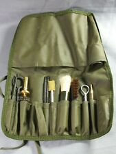 Gun Cleaning Kit - Green Roll-Up Pouch