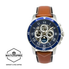 Fossil Grant Sport Automatic Luggage Leather Men's Watch ME3140