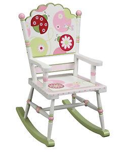 Guidecraft G86108 Children's Kids Sweetie Pie Rocker Rocking Chair for Girls