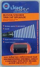 Light Saver Blitzer Strobe Tailcap for SureFire Flashlights/Torches (Black)