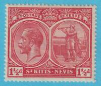 ST KITTS NEVIS 40 MINT HINGED OG * NO FAULTS VERY FINE