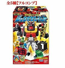 Bandai MiniPla Zyuohger Zyuoh Wild 5 Set Full Complete Candy Toy