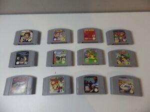 Nintendo 64 N64 Games Bundle - SAVE $$$ on Combined Postage - Mario, Banjo Kazoo