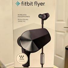 Fitbit Flyer Wireless Sport Running Fitness Headphones Black Nightfall Blue