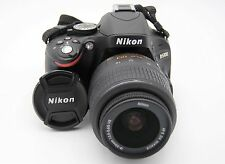 NIKON D5100 16.2MP DSLR CAMERA W/ AF-S DX Nikkor 18-55mm f/3.5-5.6G VR ZOOM LENS