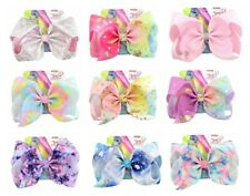 8'' JoJo Siwa Large Hair Bow School Dance Hair Accessories Girls  Hair Bow