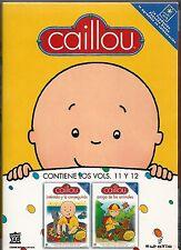 Caillou – PACK 2 DVDs – Vol. 11 y Vol. 12 – Excelente estado