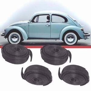 VW Beetle fender beading, VW bug fender bead, Volkswagen fender seals, 4 pieces