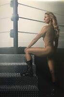 "Charlotte Flair Poster 12""x18"" Photo Print WWE ESPN Body Issue  Posed Picture"