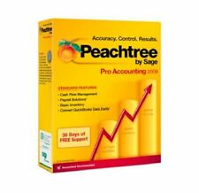 Brand New in Box Peachtree By Sage Pro Accounting 2009 Software