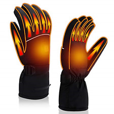 New listing Autocastle Men Women Rechargeable Electric Warm Heated Gloves Battery Powered Xl