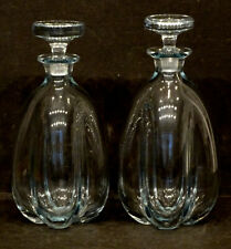 STROMBERGSHYTTEN Vintage MID-CENTURY MODERN Art Glass DECANTER Holmegaard Lutken