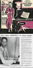 Jelly Roll Morton	Piano Solos -  MINI LP REPLICA CARD SLEEVE 22-track	CD	Vogue