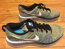 NIKE FLYKNIT MAX 620469-004 SIZE 8.5 MULTICOLOR SUPREME LIMITED SOLD OUT QS
