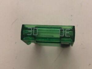 30 AMP GREEN MAXI BLADE FUSE CAR VAN TRUCK LORRY X10 (PACK 10)