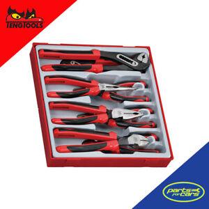 Teng Tools - 8 Piece Plier Set (TPR Grip)
