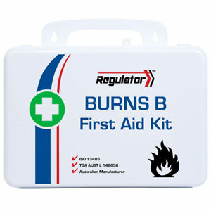 Burns First Aid Kit (B) MEDIUM Hard Case 1-25 PPL OHS