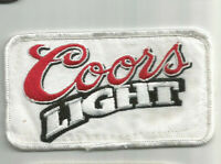 Coors LIGHT Beer driver employee patch 2-1/2 X 4-3/8 #8010