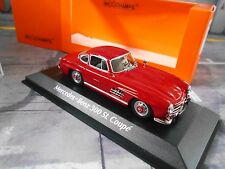 MERCEDES Benz 300sl 300 SL Coupe w198 ROSSO RED 1955 MAXI Champs Minichamps 1:43