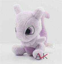 "6"" Cute Pokemon Mewtwo Kids Toy Soft Plush Stuffed Doll Toy Birthday Gift New"