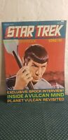 Star Trek Giant Poster Book Voyage Five Stardate 7701.01 Spock Interview
