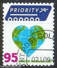 NVPH 2622  Voor buiten Europa 95 cent Hart-Globe gestempeld