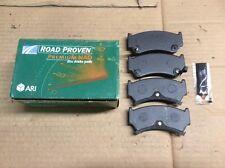 New ARI Roadproven 63-D668 Premium NAO Disc Brake Pad Pads