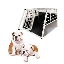 Doppel Hundetransportbox Gitterbox Alu Hundebox Kofferraum Autotransportbox XL