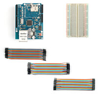 W5100 R3 Network Expansion Board +400 Point Breadboard+120Pcs Jumper Wires M/F B