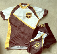 Women's UPS Branded Cycling Kit NWT