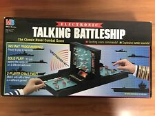 Milton Bradley Electronic Talking Battleship (1989) Tested & Working