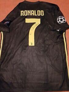 Maglia Cristiano Ronaldo autografata Juventus COA Live Onlus NO MATCH WORN