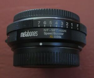 Metabones Speed Booster XL 0.64x Adapter for Nikon F and G Lens to MFT