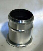macro extension lens tube for exakta lenses 34mm and 18mm vintage