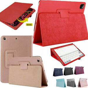 "For Apple iPad Air 4th Generation 10.9"" 2020 Case Smart Flip Stand Leather Cover"