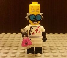 Lego NEW Series 14 CMF Crazy Scientist Minifigure With Pink Elenmeyer Flask