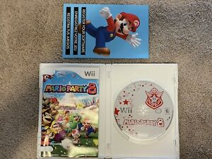 Mario Party 8 (Wii, 2007) Complete w/Manual |Tested 🔥🔥