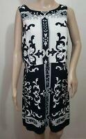 NEW  Donna Morgan Liquid Knit Sheath Dress Sleeveless Women's Size 8 Knee Length