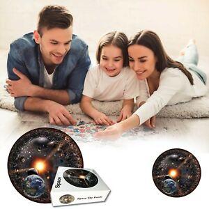 Space Puzzle Universe Puzzle Round Puzzle Series Adult Puzzle 1000 Pieces X0 0