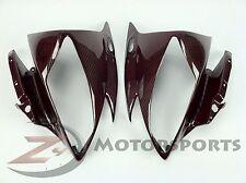 2006 2007 R6 Upper Front Nose Headlight Panel Cowl Fairing Carbon Fiber Red