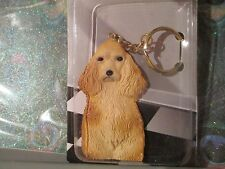 COCKER SPANIEL BLONDE ~ MY BEST FRIEND KEY CHAIN