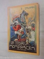 LE TIGRI DI MOMPRACEM E Salgari Fabbri 1975 Libro di Narrativa Ragazzi storia di